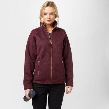 8c76cd7bad0fc Dark Red CRAGHOPPERS Women's Cayton Fleece Jacket ...