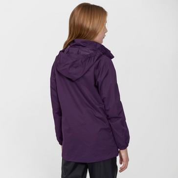 Purple Peter Storm Kid's Wendy II Waterproof Jacket