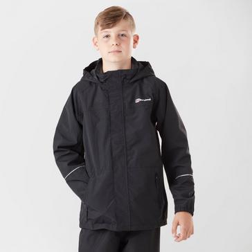 Black Berghaus Kid's Callander Jacket