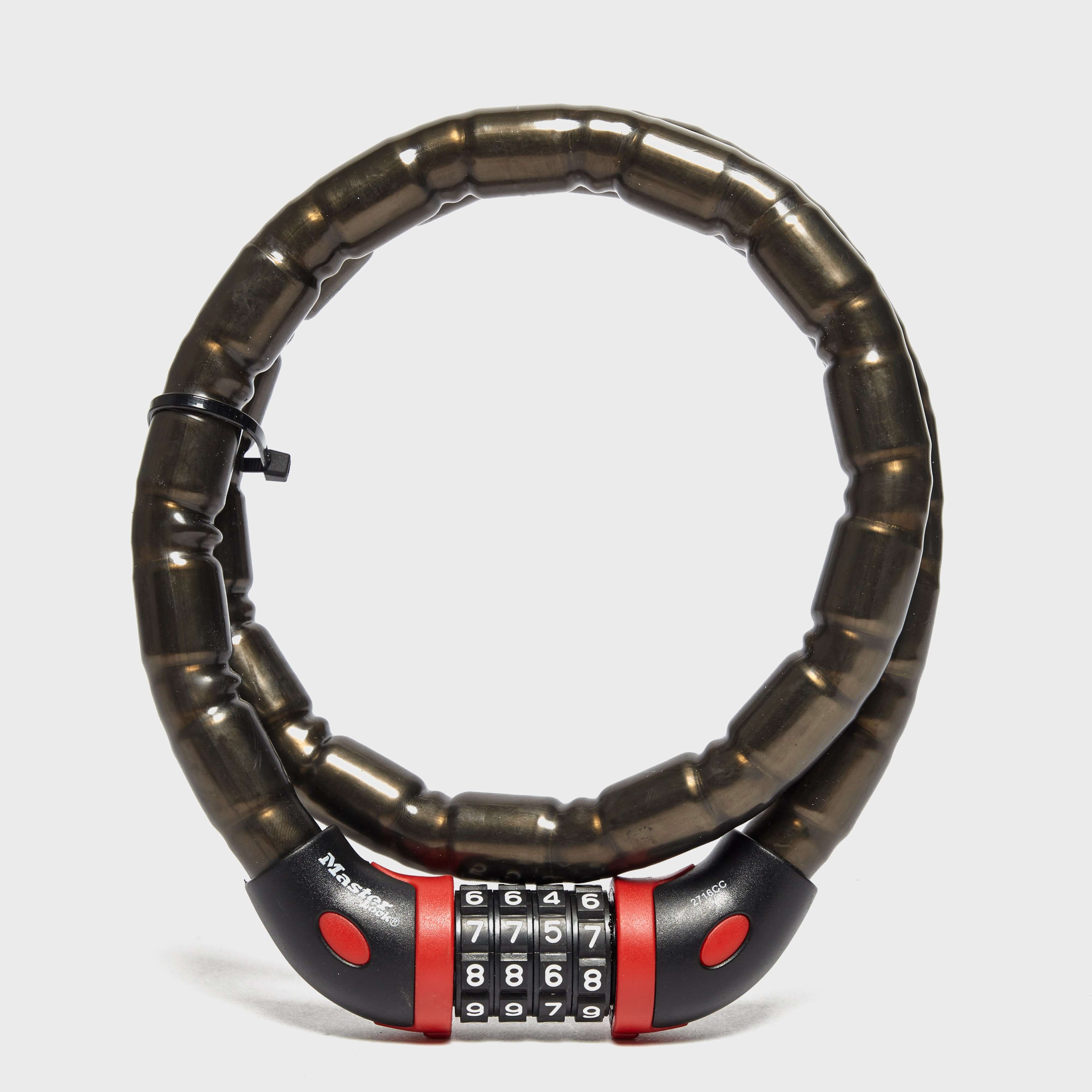 MASTERLOCK Four-Digit Combination Lock and Bracelet