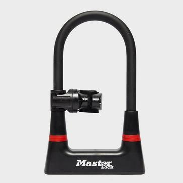 Black Masterlock 14mm Mini D-Lock 210mm x 104mm