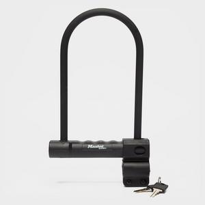 MASTERLOCK 12mm D-Lock 200mm X 100mm + Carrier Bracket
