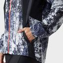Black UNDER ARMOUR Women's UA Printed Running Jacket image 6