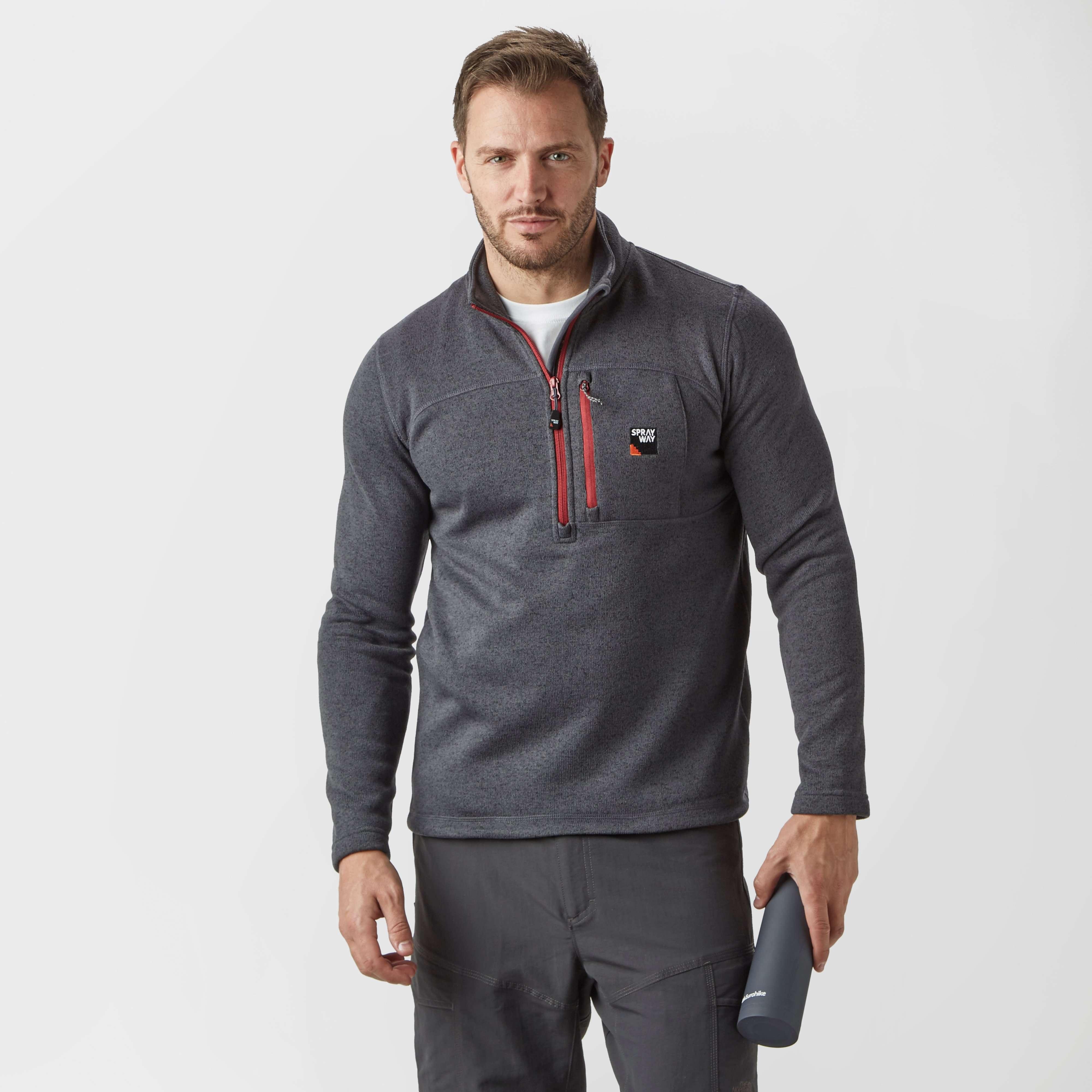 SPRAYWAY Men's Tatra Half Zip Fleece