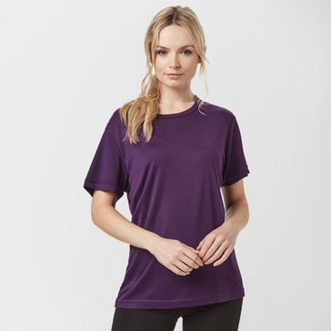 66f7c5a8fe9 Purple PETER STORM Women's Thermal Crew T-shirt ...