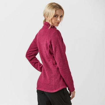 Red Sprayway Women's Kiso Half-Zip Fleece