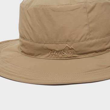 Beige Peter Storm Unisex River Ranger II Hat