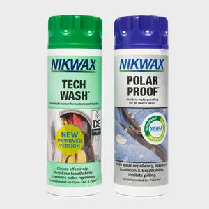 NIKWAX Tech Wash / Polar Proof Twin Pack