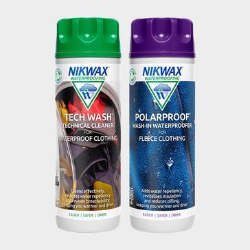 Green Nikwax Polar Proofer & Tech Wash Twin Pack 300ml