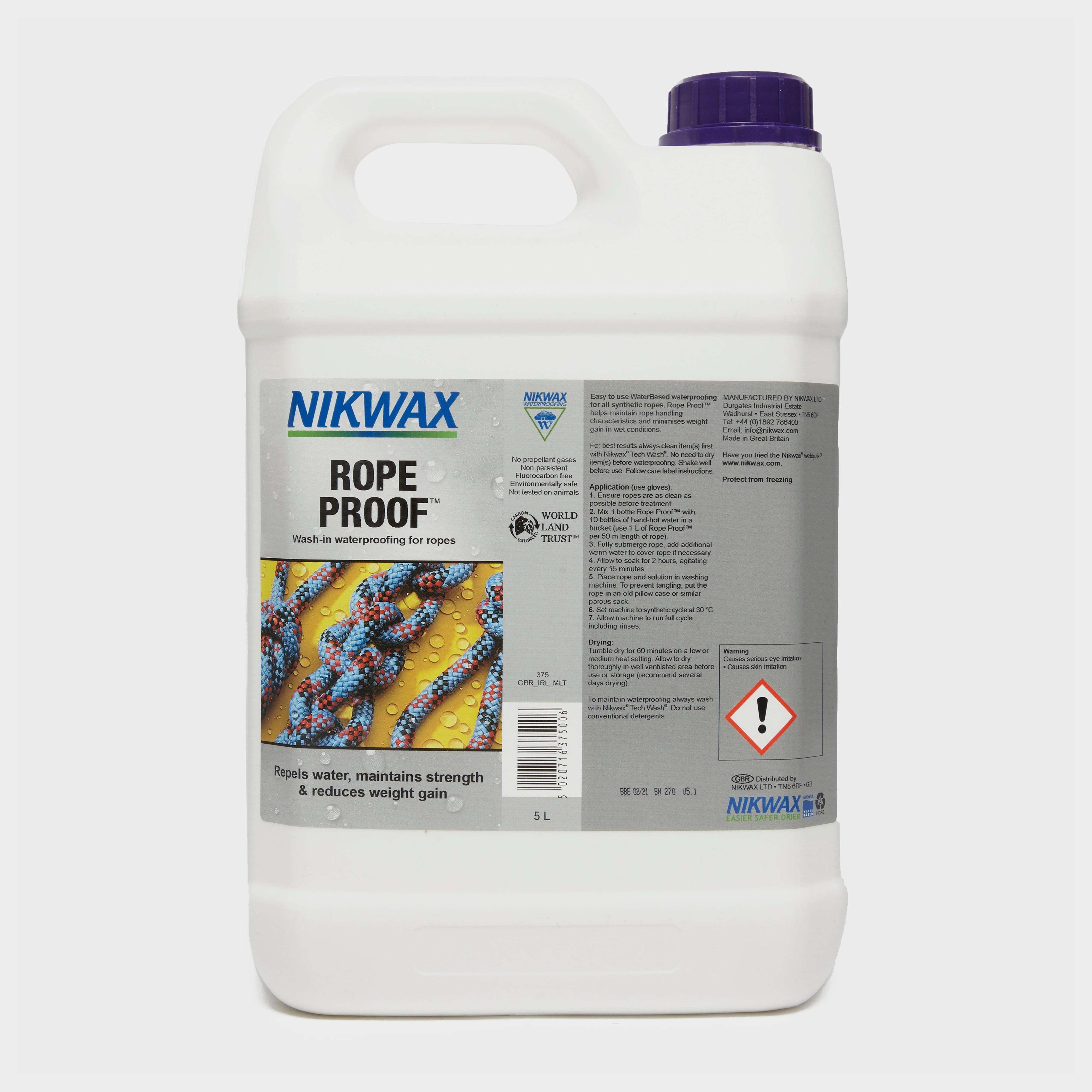 NIKWAX Rope Proofer 5 Litre