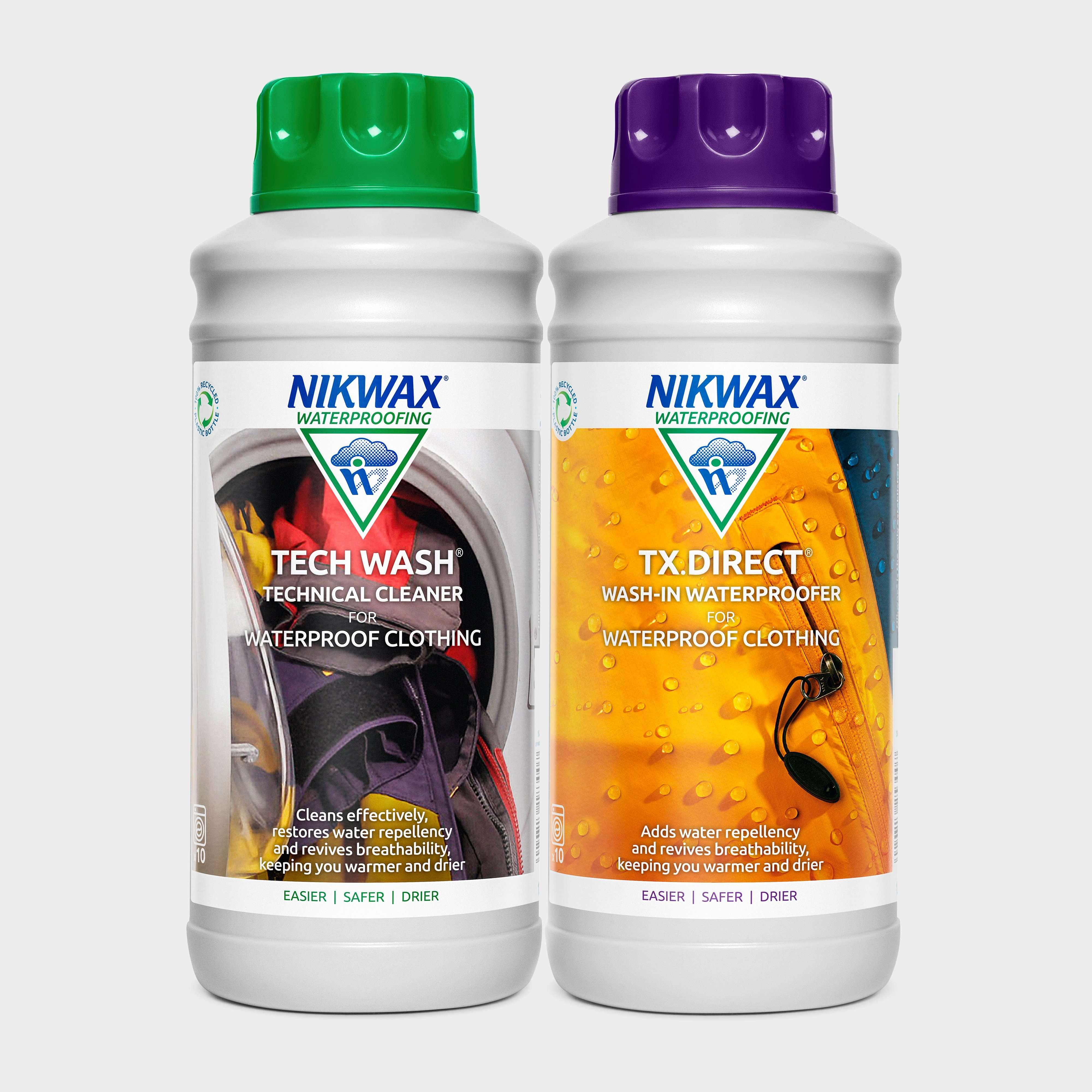 NIKWAX Tech Wash & TX.Direct Twin Pack 1 Litre