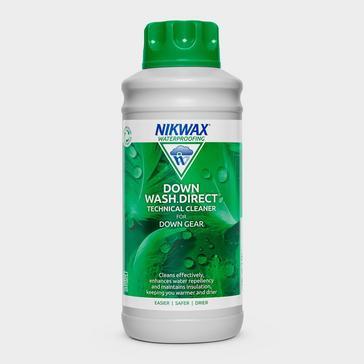 White Nikwax Down Wash Direct 1L