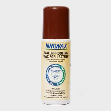 N/A Nikwax Waterproofing Wax For Leather 125ml Brown