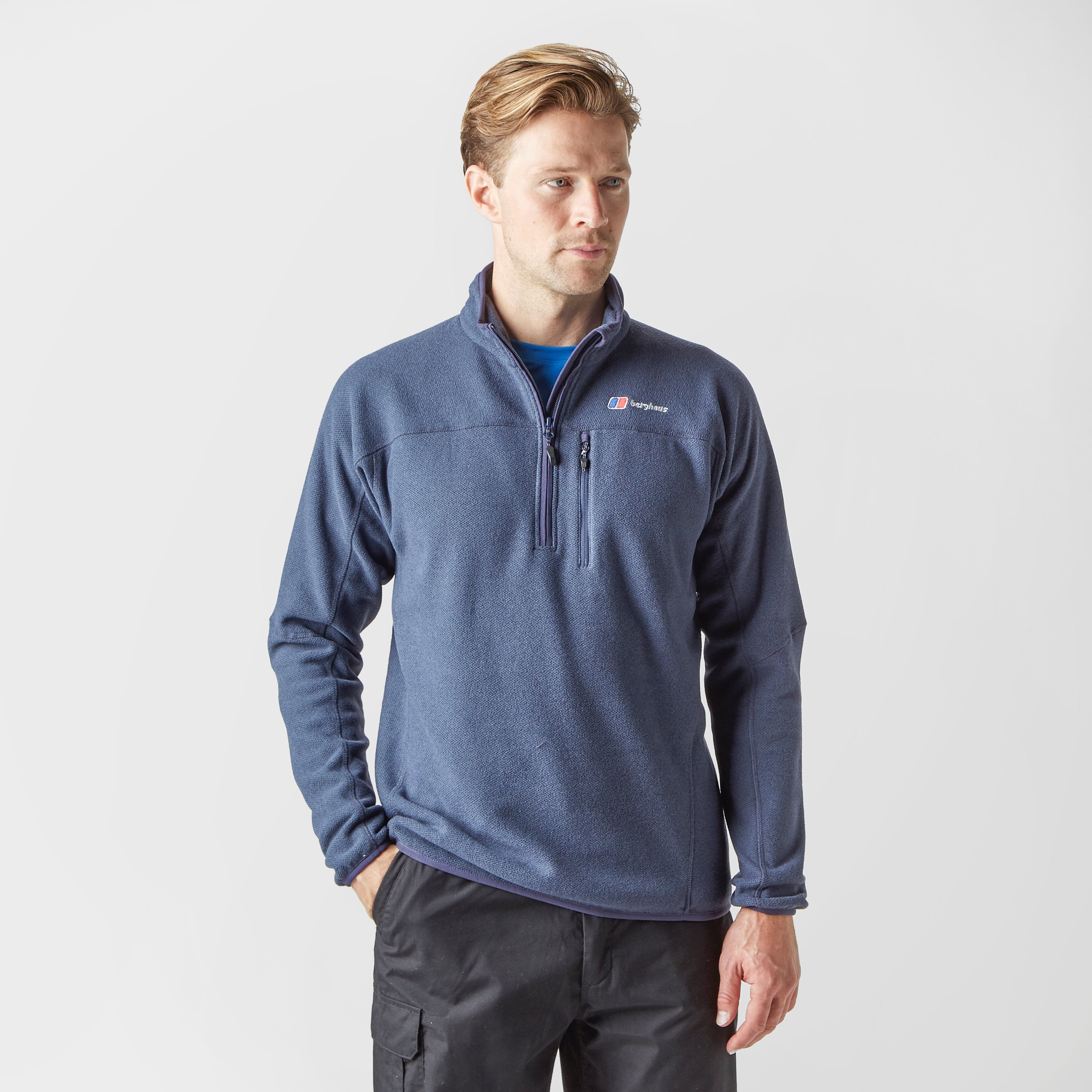 BERGHAUS Men's Stainton Half-Zip Fleece
