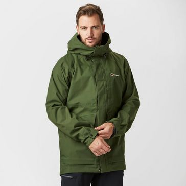 Green BERGHAUS Men s Stiloy Waterproof Jacket ... c5ca1adf2ab6d