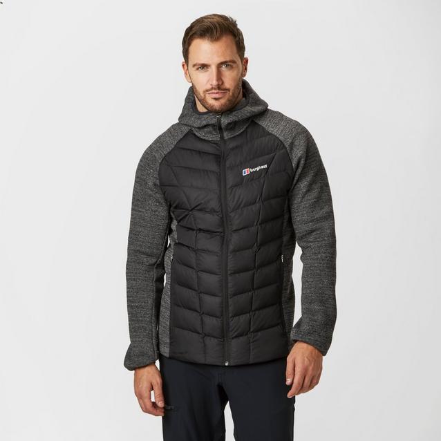 4a344a0a6c6 Black BERGHAUS Men's Duneline Hybrid Jacket image 1