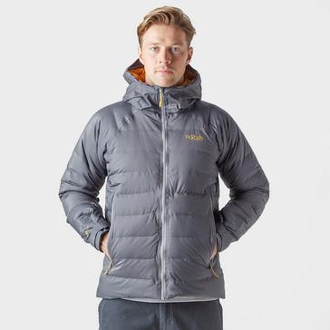 Grey|Grey Rab Men's Valiance Insulated Jacket