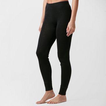 67bf88f448c6e Black TECHNICALS Women's Merino Baselayer Leggings ...