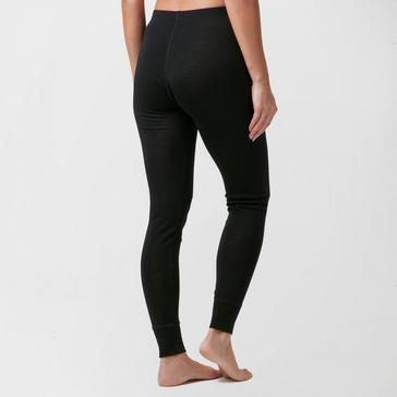 Black Technicals Women's Merino Baselayer Leggings