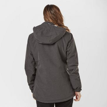 Grey|Grey Peter Storm Women's Husky Fur Lined Insulated Jacket