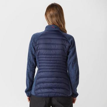 Navy Peter Storm Women's Baffle Fleece Jacket