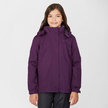 Peter Storm Kids Packable Patterned Waterproof Jacket 3-4 Years Navy