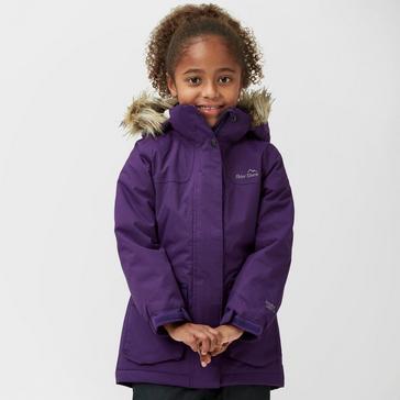 e95eaaa34 Purple PETER STORM Kids' Poppy Waterproof Parka
