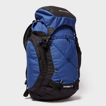 0a1bf376e11 Mid Blue EUROHIKE Pathfinder II 35L Daysack