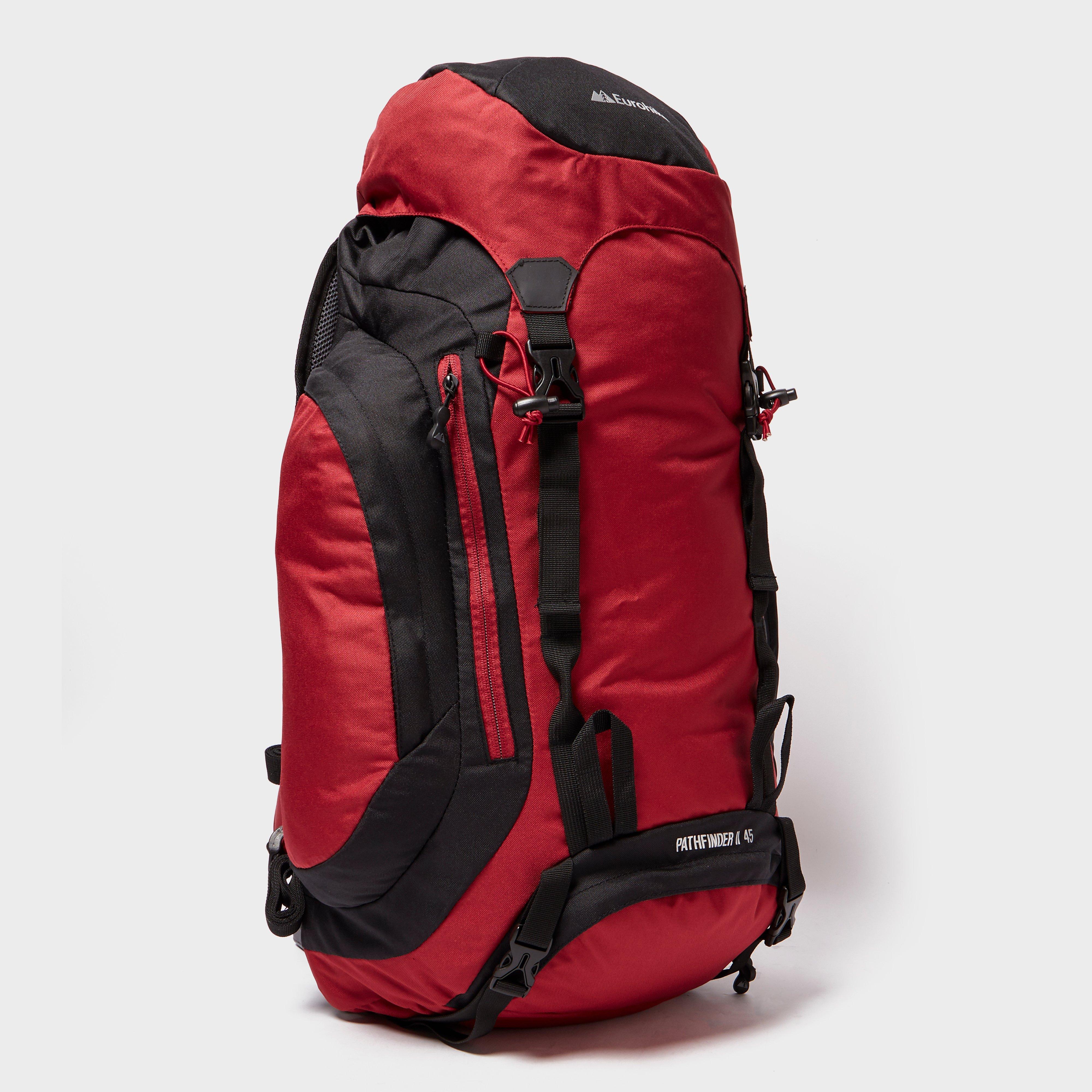 Eurohike Eurohike Pathfinder II 45L Backpack - Red, Red