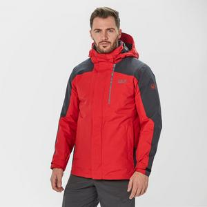JACK WOLFSKIN Men's Viking Sky 3 in 1 Jacket