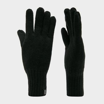 Black Heat Holders Men's Thermal Gloves
