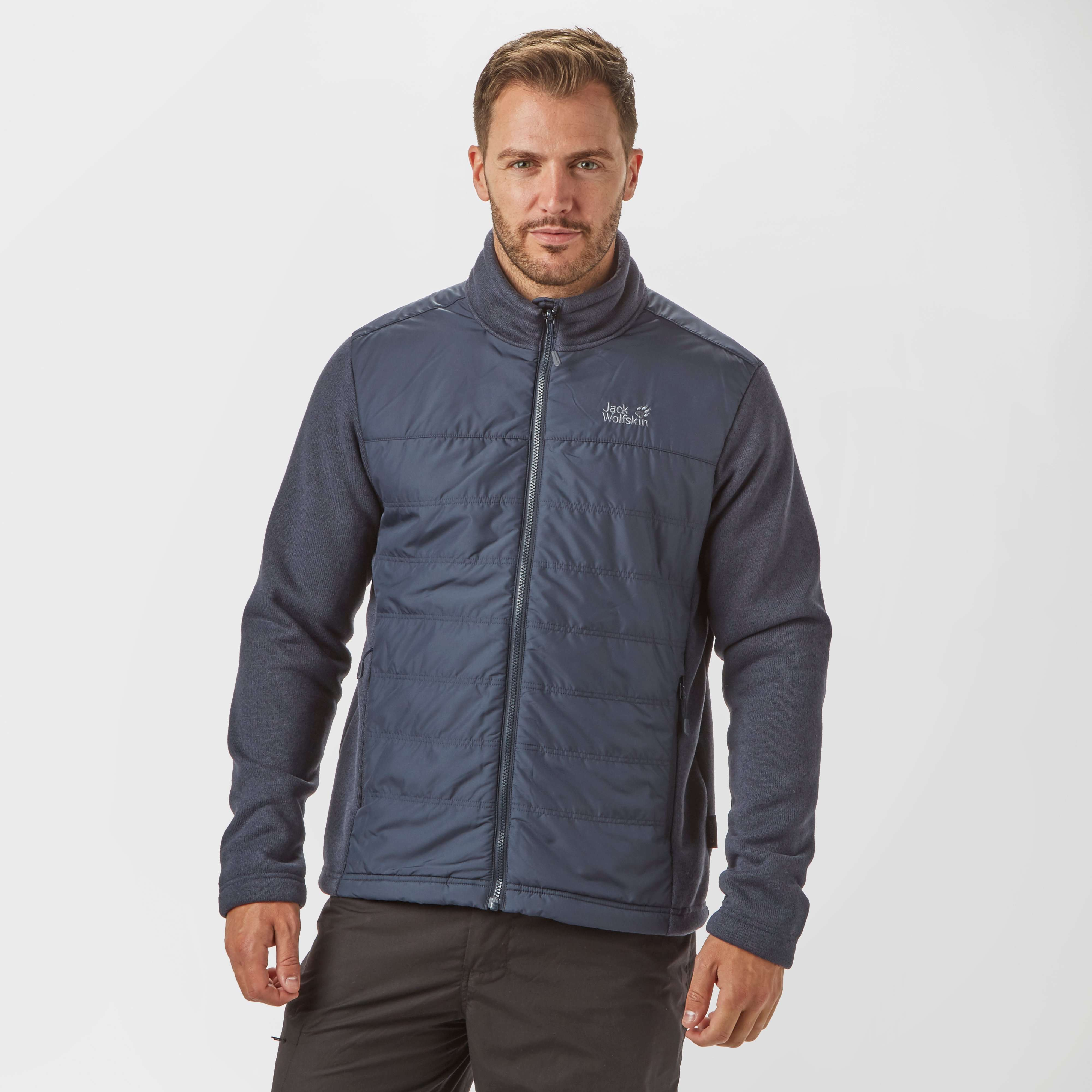 JACK WOLFSKIN Men's Caribou Crossing Track fleece