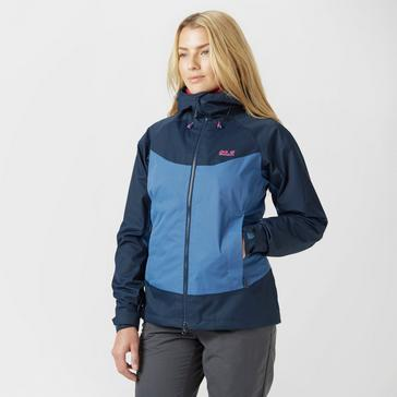 8dd480c2fb Navy JACK WOLFSKIN Women's Northern Summit Waterproof Jacket