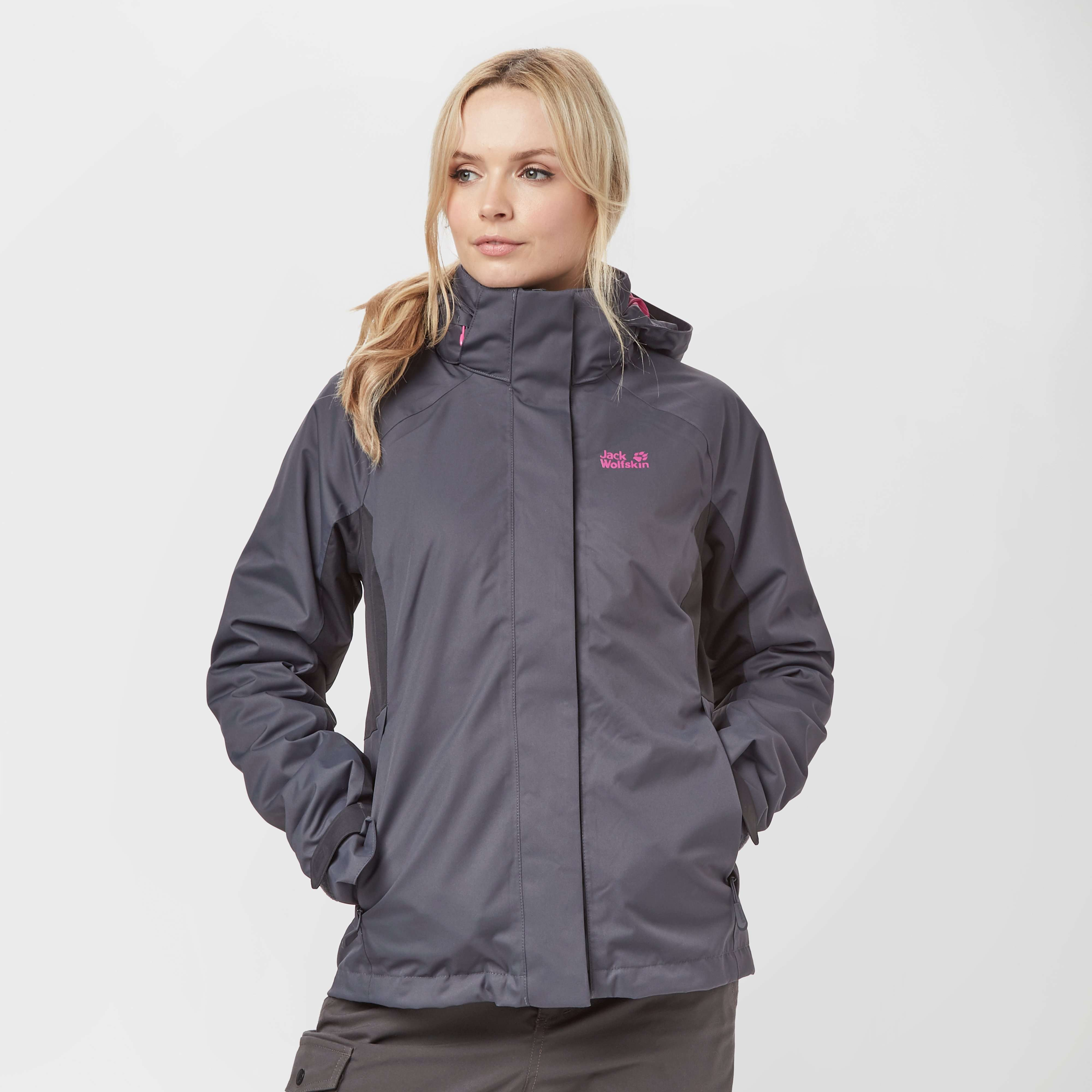 JACK WOLFSKIN Women's Iceland Journey 3 in 1 Jacket