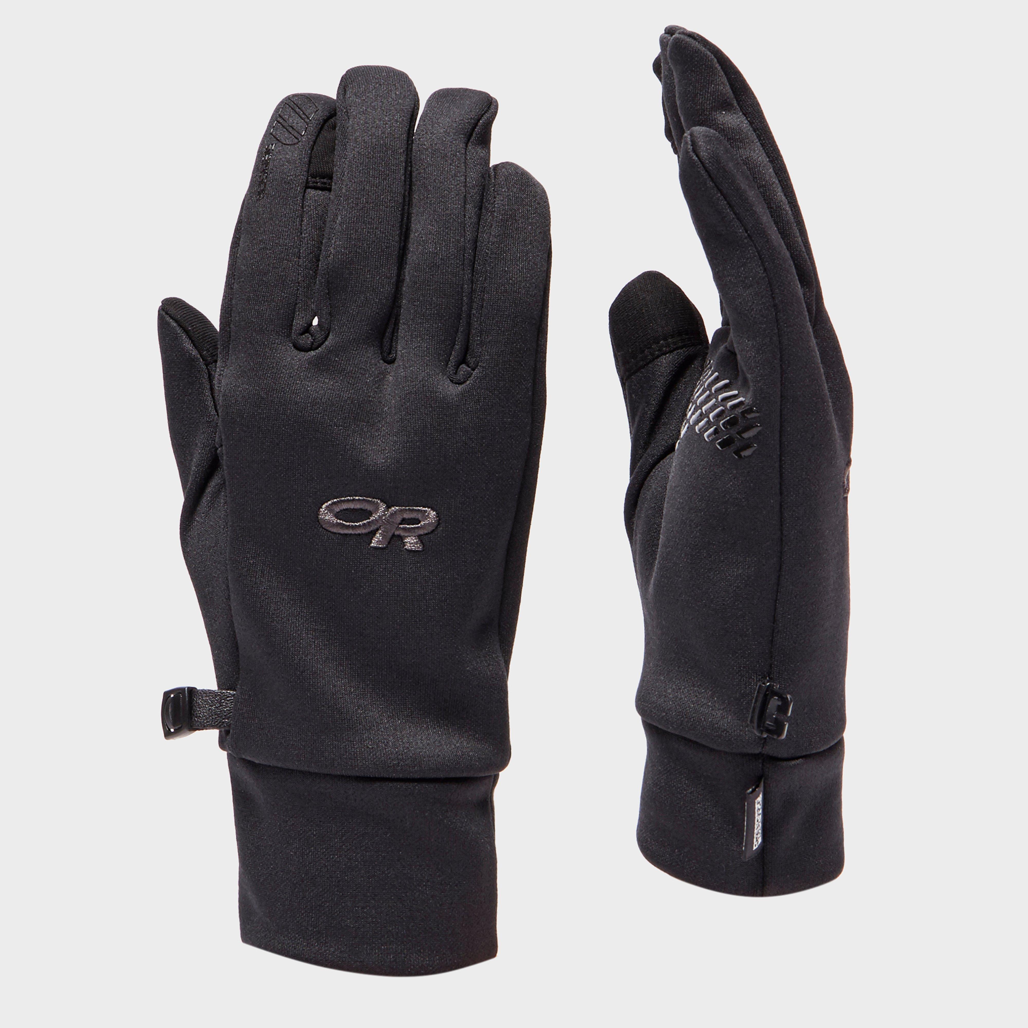 Outdoor Research Outdoor Research Mens PL100 Sensor Gloves - Black, Black