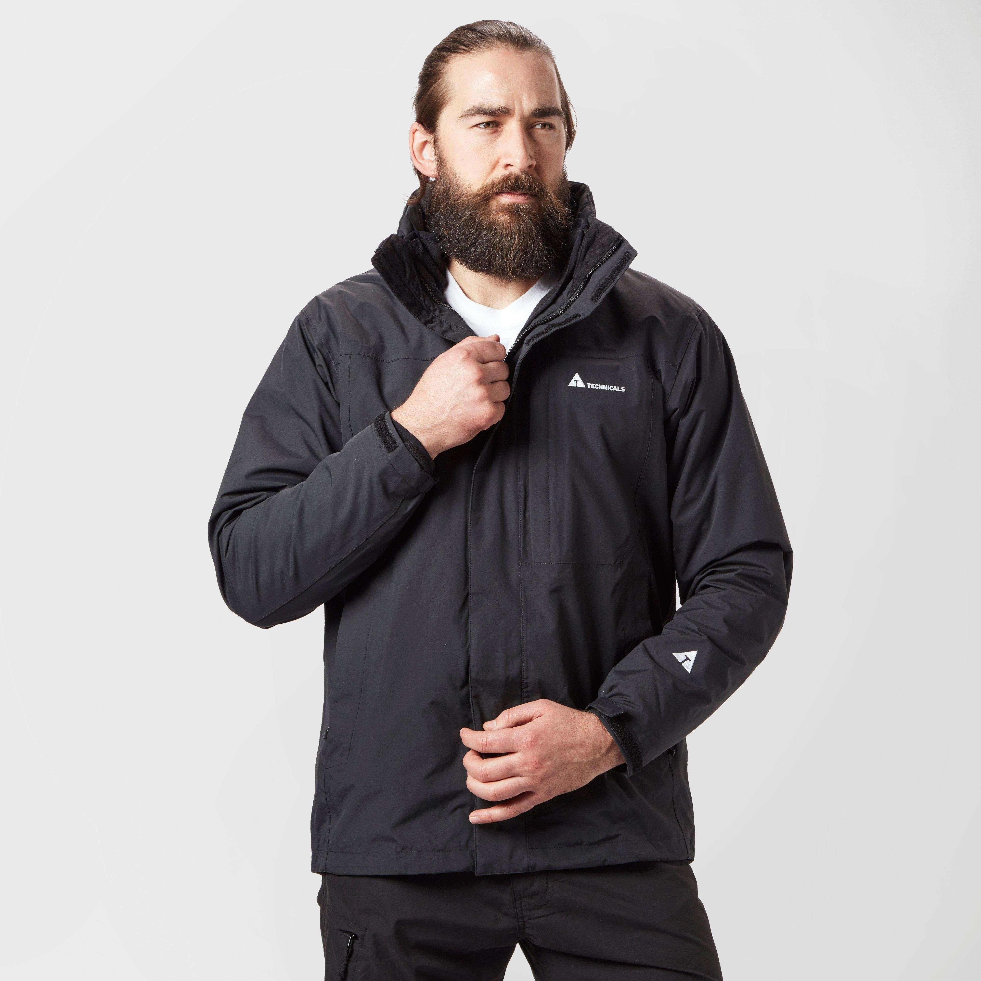 TECHNICALS Men's Pinnacle 3-in-1 Jacket