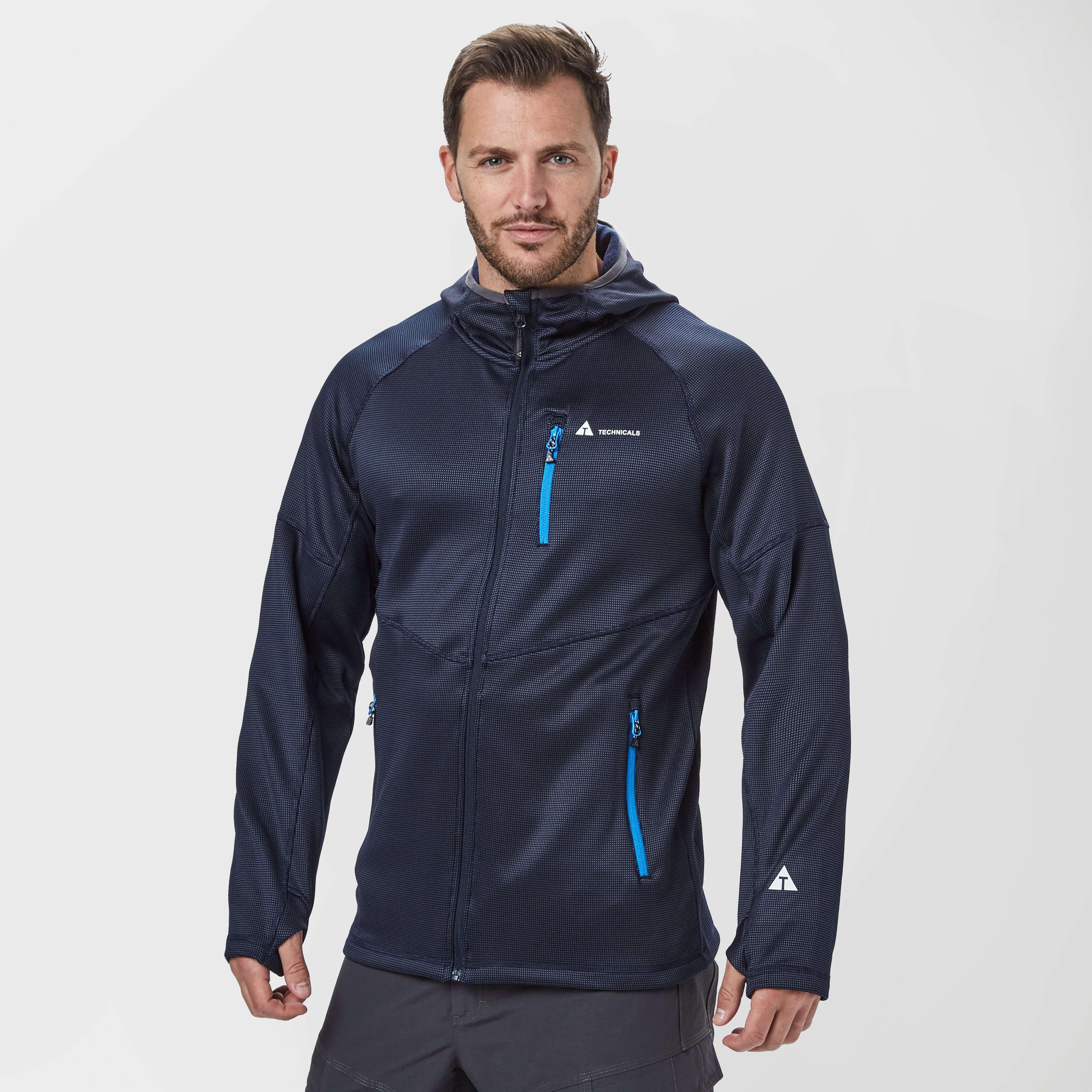 TECHNICALS Men's Race Full-Zip Hooded Jacket