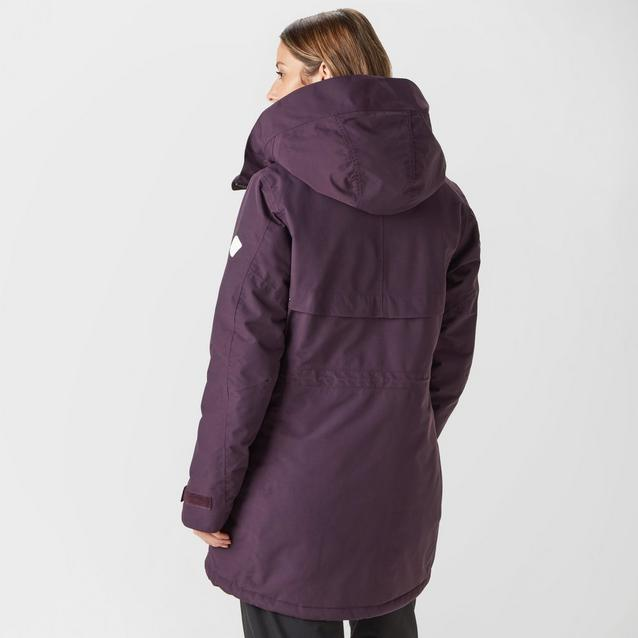 3db5888478 Purple DIDRIKSONS Women's Frida Parka image 2