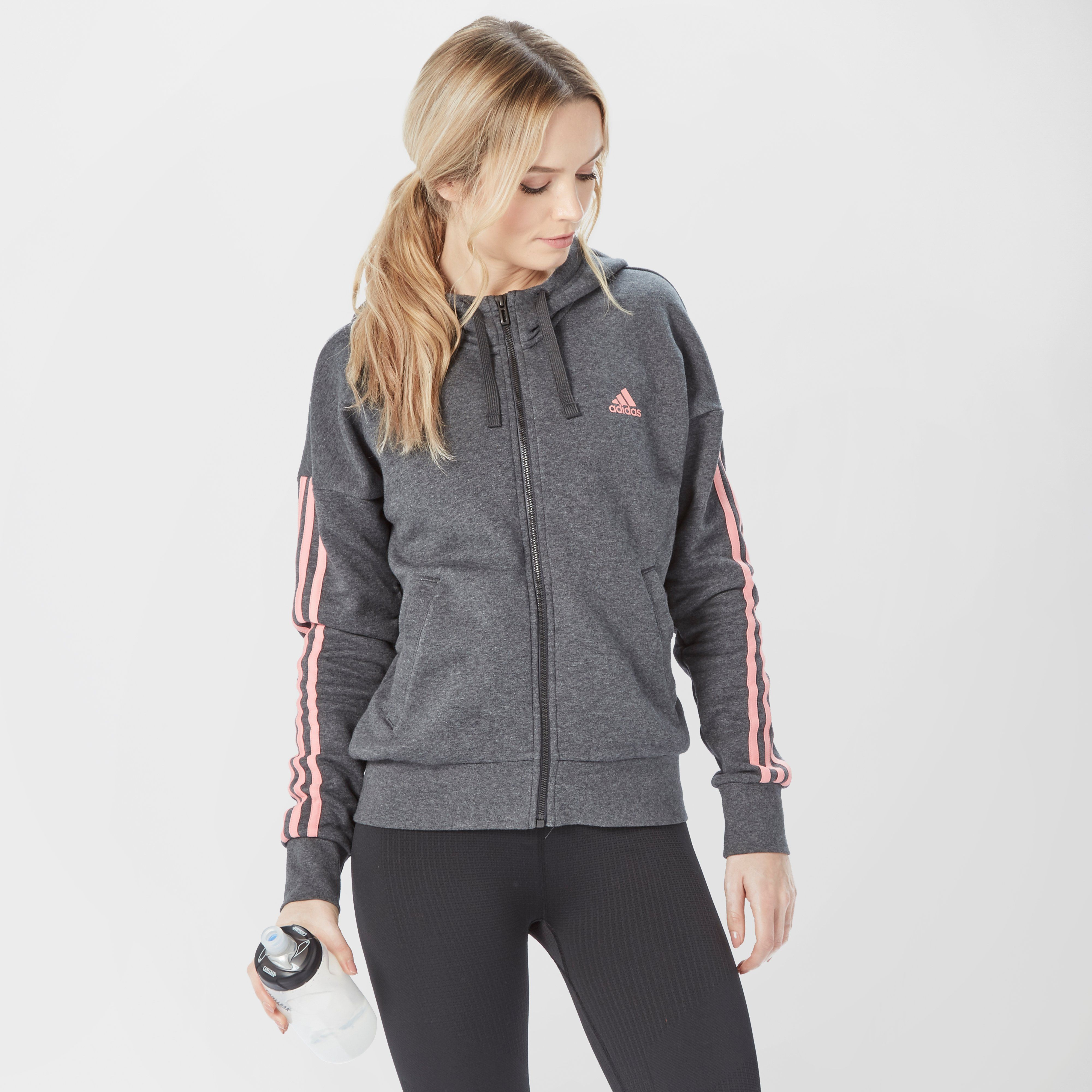 ADIDAS Women's Essentials 3-Stripe Hoodie