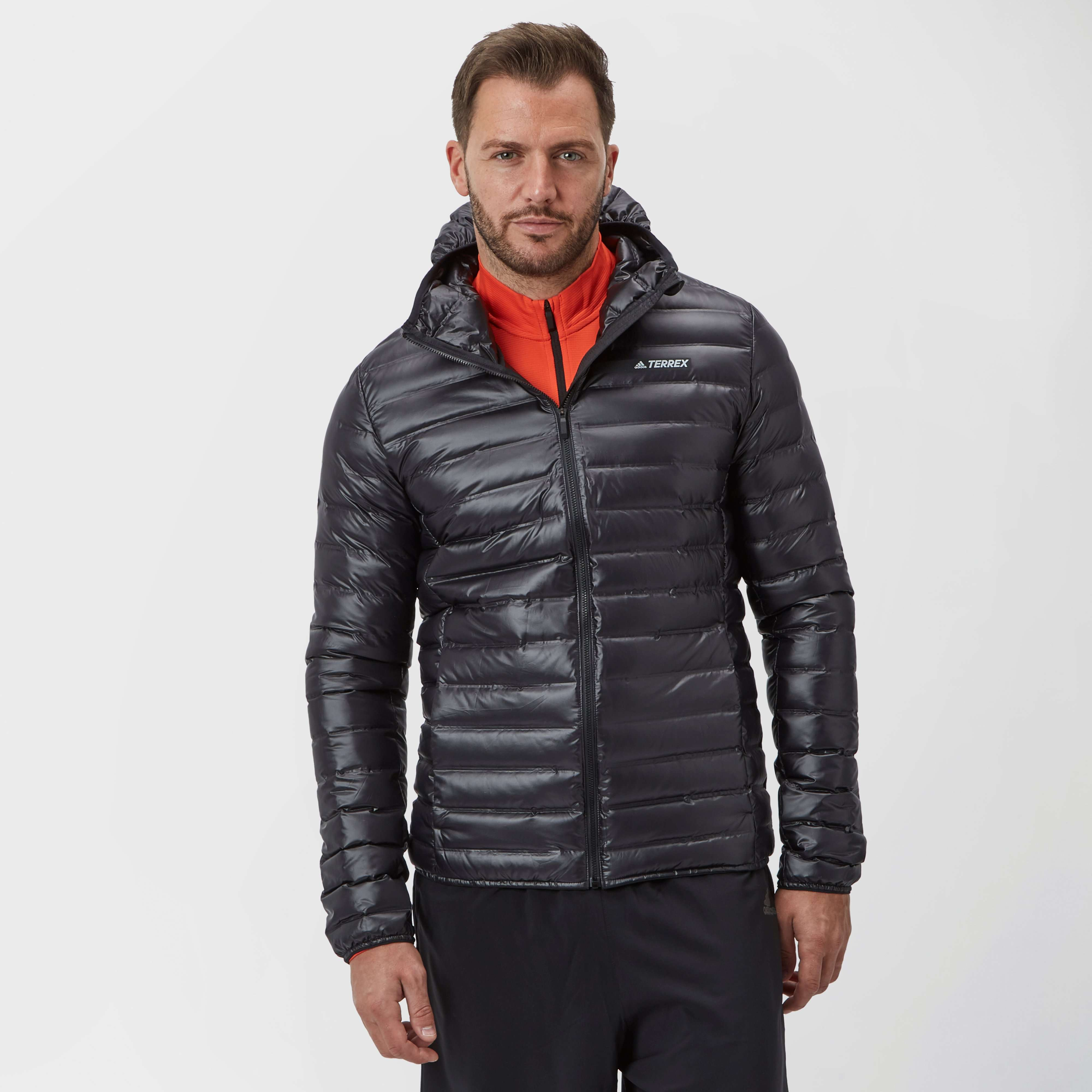 ADIDAS Men's Light Down Terrex Hooded Jacket