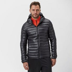 adidas Men's Terrex Light Down Hooded Jacket