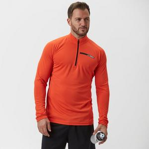adidas Men's TraceRocker Half-Zip Baselayer