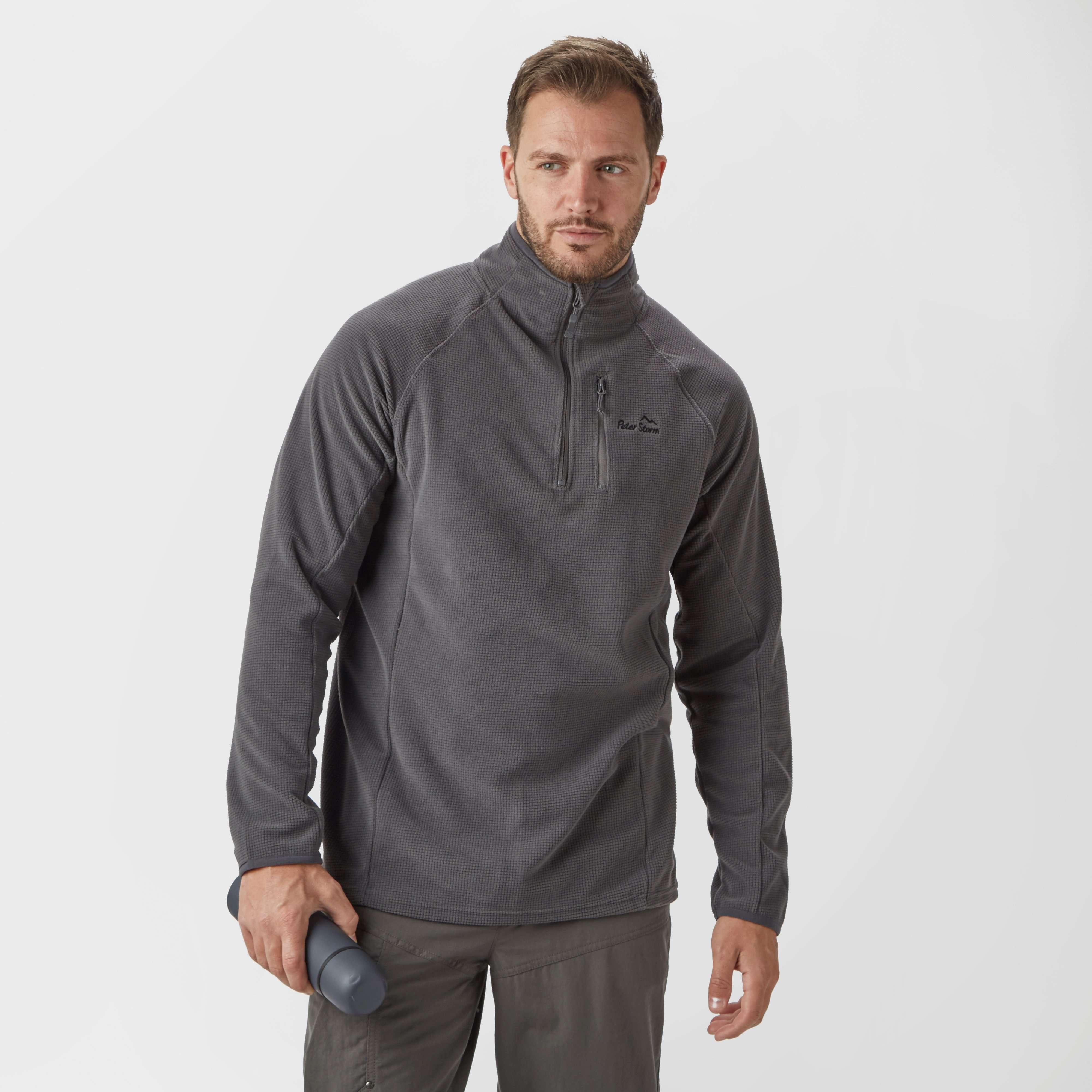 PETER STORM Men's Grid Half-Zip Fleece
