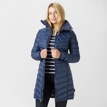 1415fe9f9b Blue JACK WOLFSKIN Women's Richmond Long Jacket