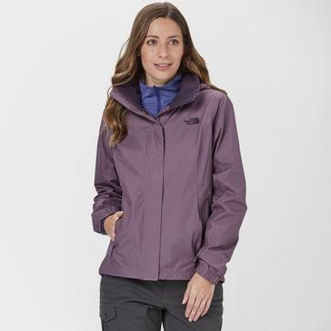 236d2e85eb5 Purple THE NORTH FACE Women's DryVent™ Resolve 2 Jacket