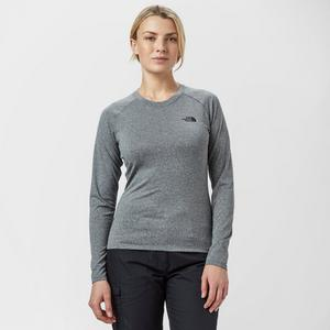 THE NORTH FACE Women's Mountain Athletics Reaxion Long Sleeve T-Shirt