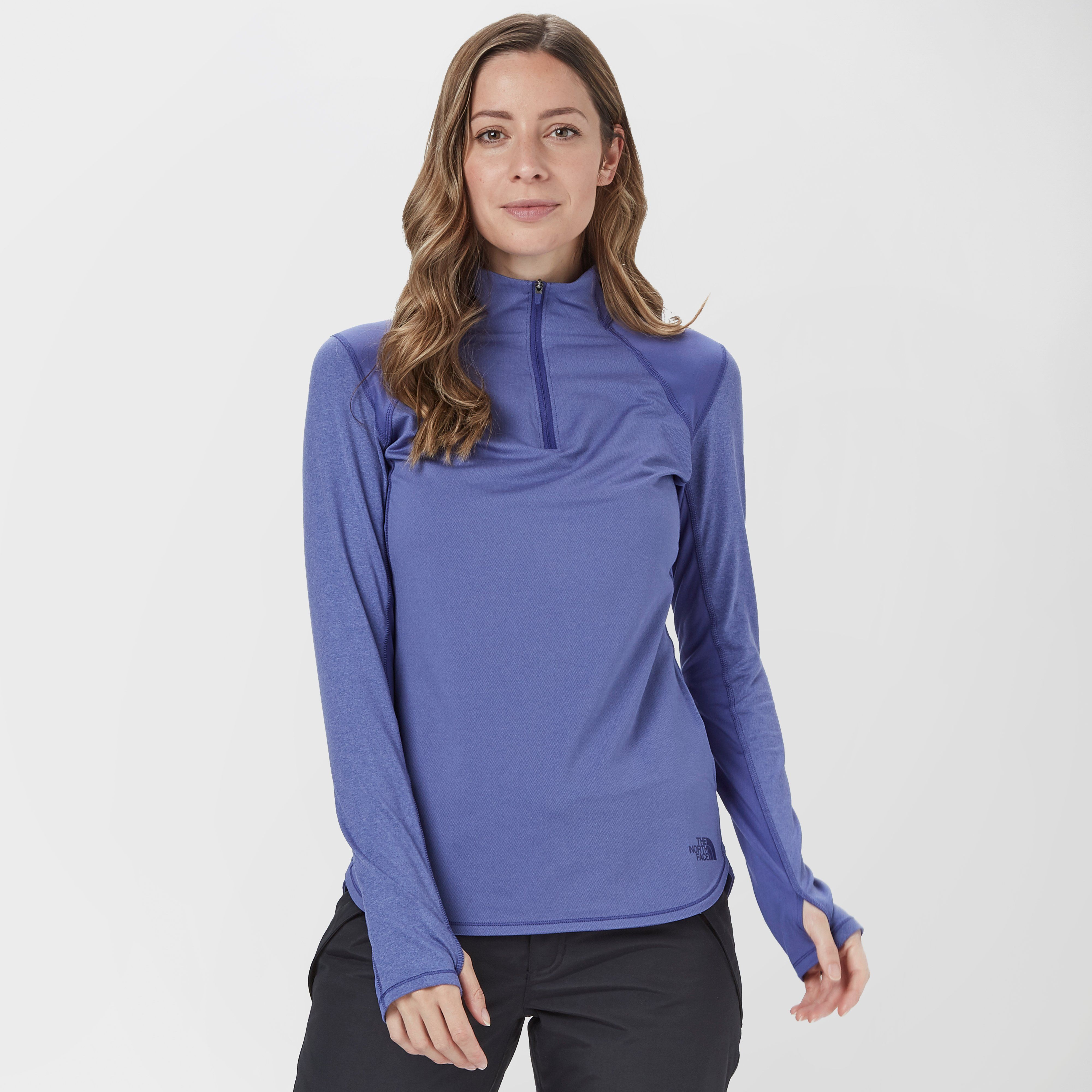 THE NORTH FACE Women's Mountain Athletics Motivation Quarter Zip Fleece