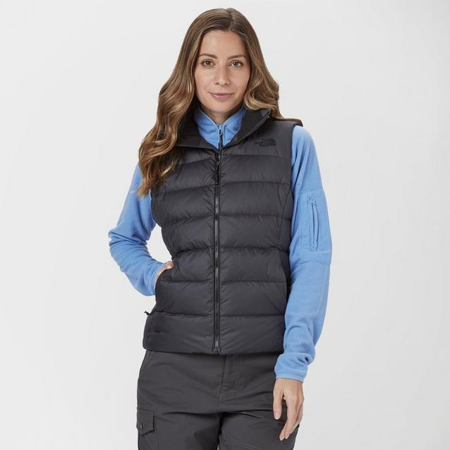506b136bfd7 Black THE NORTH FACE Women's Nuptse Gilet image 1