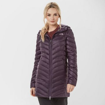 61c71e720d Purple THE NORTH FACE Women s Trevail Down Parka ...