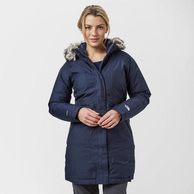 6a181be5 Navy THE NORTH FACE Women's Arctic Parka image 1
